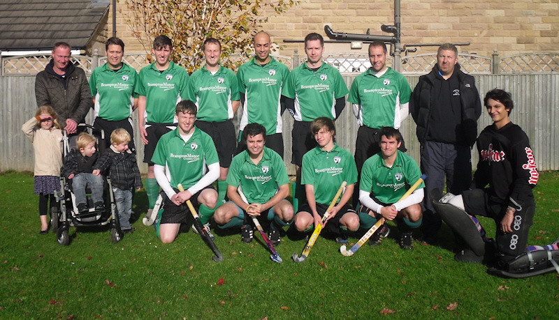 Chesterfield Hockey Club 1st XI Squad 2012