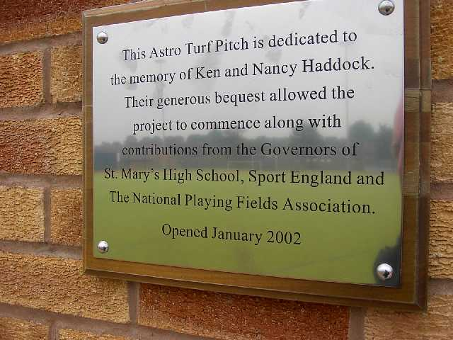 Pitch Plaque