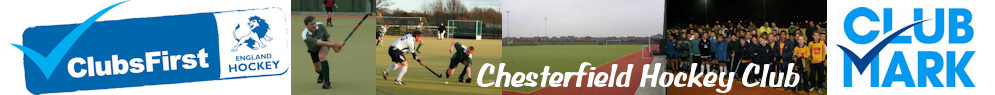 Chesterfield Hockey Club Top  Banner